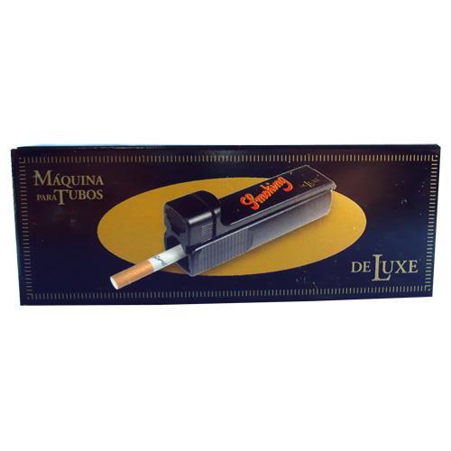 MAQUINA P/ ENROLAR CIGARRO SMOKING DE LUXE TUBES