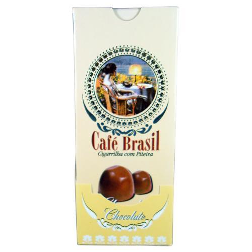 CIGARRILHA CAFÉ BRASIL COM PITEIRA DISPLAY
