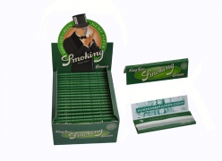 PAPEL SEDA SMOKING GREEN KING SIZE