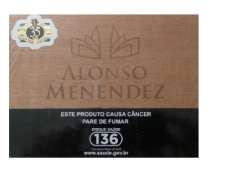 CHARUTO ALONSO MENENDEZ ROBUSTO CONNECTICUT