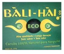 CARVÃO PARA NARGUILÉ BALI HAI ECO 500 GR