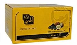 CARVÃO DE COCO PARA NARGUILÉ – ALWAHA GOLD – 500 gramas