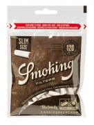 FILTRO PARA CIGARRO SMOKING BROWN SLIM