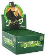 PAPEL SEDA SMOKING GREEN KING SIZE