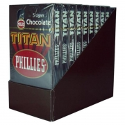 CHARUTO TITAN CHOCOLATE DISPLAY