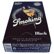 PAPEL SEDA SMOKING BLACK MINI SIZE