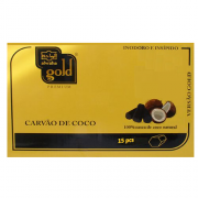 CARVÃO DE COCO PARA NARGUILÉ – ALWAHA GOLD – 250 gr